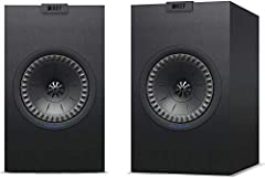 """The KEF Q150 Bookshelf Speaker is the newest iteration of KEF award-winning Q Series. The Q150 features a new cabinet, sleek new finishes, and an improved 5.25"""" Uni-Q driver Array. The Q150 contains an enhanced Uni-Q Driver Array designed to smooth o..."""