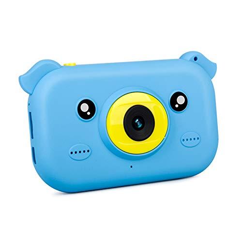 Duomus Cámara infantil Mini cámara digital recargable para niños, regalo de dibujos animados para niños y niñas de 3 a 8 años, con 4 filtros para tomar fotos y vídeos