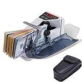 MUNBYN Mini Portable Handy Bill Cash Banknote Counter, Counting 600Bills/min, Money...