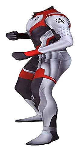 HAOWUTX Avengers: Endgame The Avengers 4 Final Battle Quantum Bataille Costume Film Jeu De Rôle Spacesuit Costume Fancy Dress Party Leotard (Couleur : A, Taille : 3XL)
