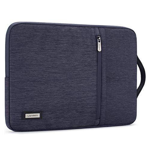 LONMEN 14 Zoll Wasserdicht Laptop Sleeve Hülle Tasche Laptophülle Notebook mit Griff für 14