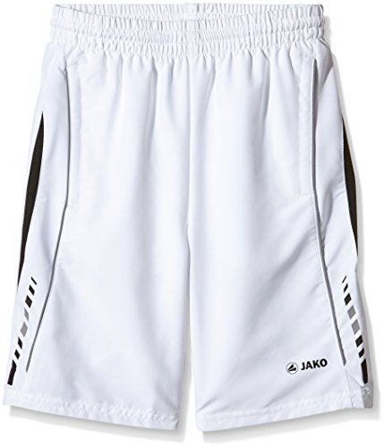 JAKO Shorts Champion - Pantalones Cortos, Color Blanco, Negro, Gris, Talla UK: 2