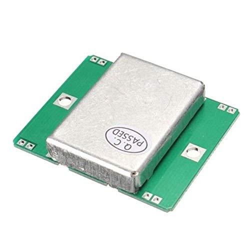 Compatible con Arduino 10.525GHz Doppler Radar Detector de Movimiento 40 mA for Arduino Módulo Sensor HB100