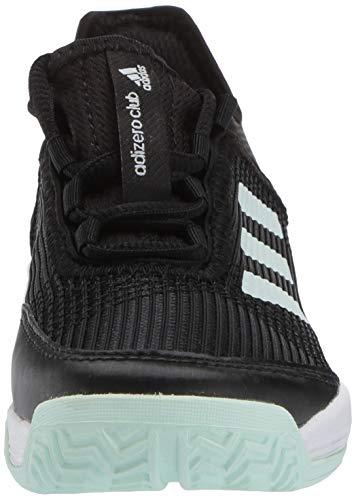 Product Image 2: adidas Unisex-Kid's Adizero Club Sneaker, core Black/Dash Green/FTWR White, 11K M US Big Kid