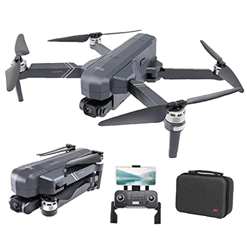 FeelMeet Control Remoto Drones FPV con cámara HD 4K Foldable RC Quadcopter 2Batterydurable