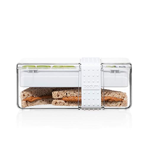 Bodum Bistro Lunchbox mit Besteck weiß