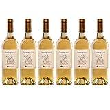 Ambroisie 2014, appellation jurancon, vin blanc, lot de 6 bouteilles
