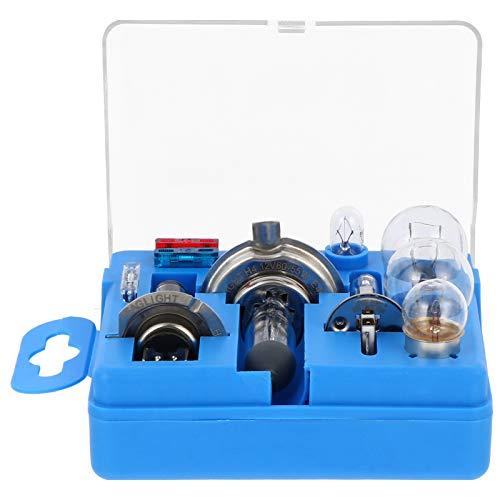 FAVOMOTO 10 Unids/Set Kits de Repuesto de Bombilla Halógena para Coche H1 H4 H7 Kit de Emergencia Automática para Luces de Respaldo de Coche Luces de Luz Trasera Luces de Señal de Giro