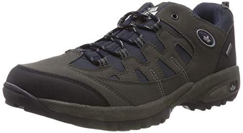 Lico Steppe Low, Chaussures de Randonnée Basses Mixte, Bleu (Marine/Grau Marine/Grau), 36 EU