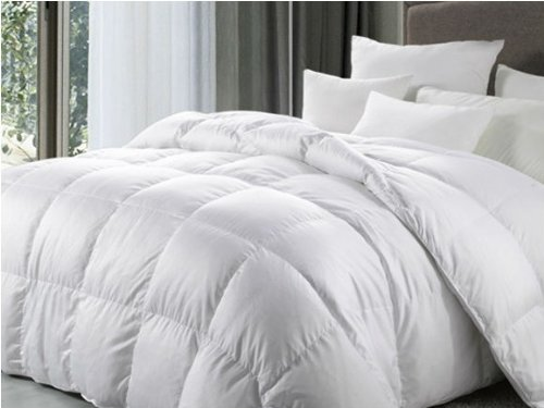 Viceroybedding Goose Feather and Down Duvet/Quilt, All Season (4.5 tog + 9 tog), Super King Size