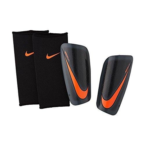 Nike Herren Mercurial Lite Schienbeinschoner, Dark Grey/Black/Total Orange, Gr. L