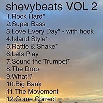shevybeats, Vol. 2 (Instrumentals)