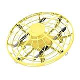bansd Aviones de inducción de ovnis Juguete de inducción Flotante Gesto de inducción de Aviones Juguete de Oro