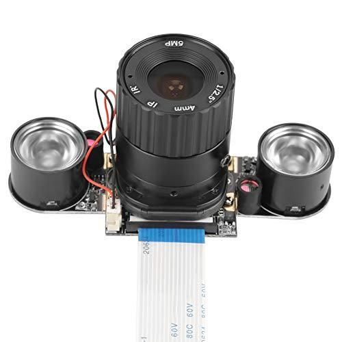 Módulo de cámara, plástico dorado hecho 2592 * 1944 visión nocturna llenar luz Webcam mini cámara