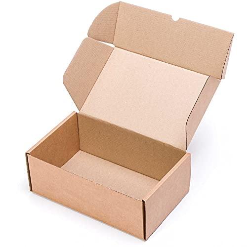 (25x) Caja de cartón para Zapatos o como automontable envíos postales TCPOBOX (C (34,5 x 20 x 12,5 cms) (LOTE DE 25...