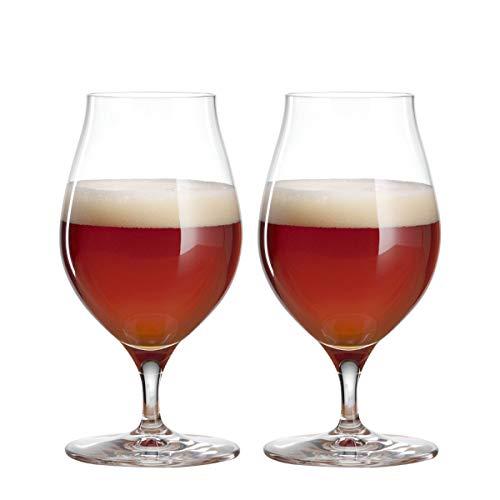 Spiegelau & Nachtmann, 2-teiliges Kraftbier-Glas-Set, Barrel Aged Beer, Kristallglas, 0,5 Liter, Craft Beer Glasses, 4992660