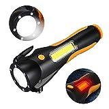 VISLONE Multifunción COB LED Linterna Seguridad Linterna de Emergencia Super...