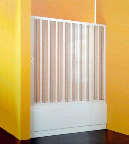 Douchecabine boven, 170 cm, in te korten, opening aan de zijkant, acryl