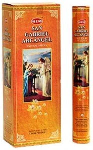 HEM San Gabriel Arcangel Incense 6 Hexagon Packs Of 20 120 Sticks