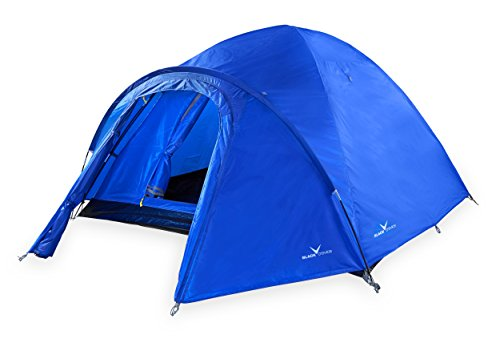 Black Crevice BCR371493-BL Tente de Camping Mixte Adulte, Bleu
