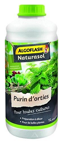 ALGOFLASH NATURASOL ALPURIN Purin d'orties liquide 1 L, 1 Liter L, Vert, 9 x 9 x 23 cm