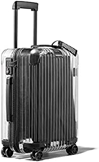 transparent carry on luggage