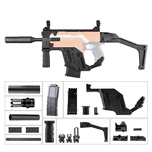 WORKER Vector Imitation Kit Combo 11 Artículos para Nerf N-Strike Stryfe Blaster