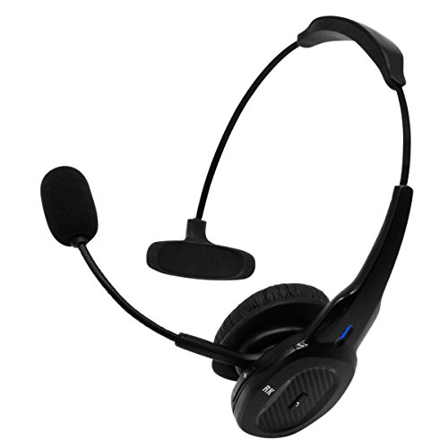 RoadKing RKING940 Premium Noise-Canceling Bluetooth Headset with Mic for Hands-Free