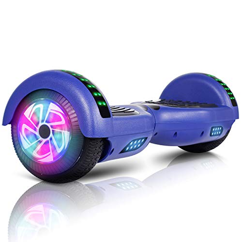 "JOLEGE Hoverboard, 6.5"" Two-Wheel Self Balancing Hoverboards - LED Light Wheel Scooter for Kids"