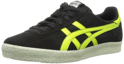 Onitsuka Tiger Men's Vickka Moscow D3Q1L.9089 Lace-Up Fashion Sneaker,Black/Lime,10 M US