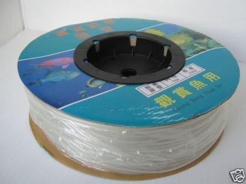 Aquaforte Klarer Silikon Schlauch, Ø 4 x 6 mm (Innenwand x Außenwand), 100 m Rolle
