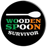 Wooden Spoon Survivor Design Irish Flag Funny Ireland Gift PopSockets Grip and Stand for Phones and Tablets