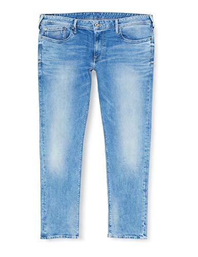 Pepe Jeans Hatch Vaqueros, Blue Denim S55, 38W / 34L para Hombre