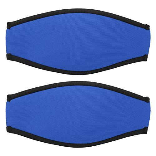 Cubierta antisudor para bucear, Cubierta para esnórquel, Material de Neopreno, para Nadar, bañarse, Hacer Surf(Blue)