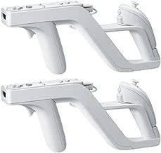 2 X Zapper GUN for Nintendo Wii Wireless Remote Controller Game
