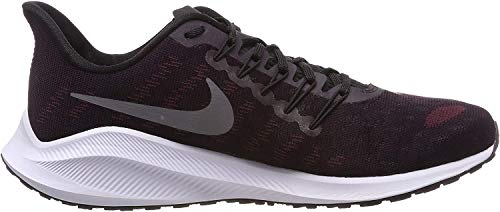 Nike Air Zoom Vomero 14 Men's Running Shoe Burgundy ASH/Gunsmoke-Lime Blast-Black 13.0
