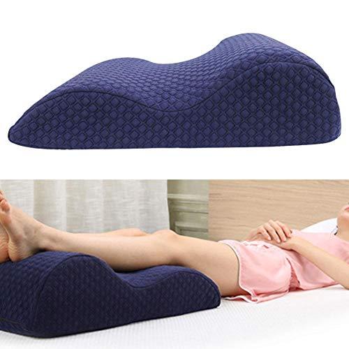 seasaleshop Orthopädisches Knie-Stützkissen, ergonomisches Knie-Stützkissen für Seitenschläfer, Knie-Kissen für bequemes Schlafen, Druckentlastungskissen, Gel-Bein-Kissen für Schmerzlinderung
