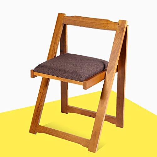 Chaise pliante en bois Chaise en bois massif en chêne Chaise simple pliante Chaise de retour à domicile Chaise de restaurant d'hôtel Chaises pliantes