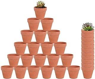 earthenware wood base planter