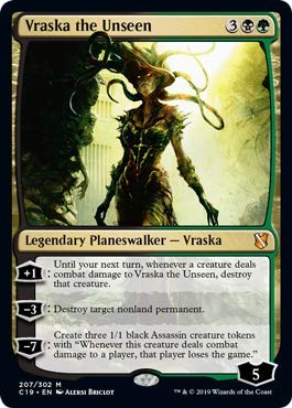 Magic: The Gathering - Vraska The Unseen - Commander 2019