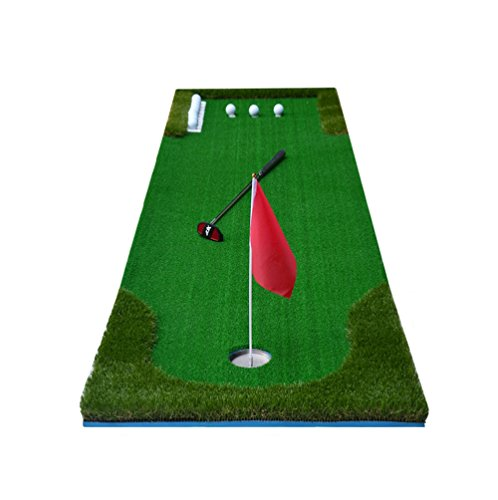 Review CN Cover Indoor Golf Simulators Golf Course Green Putting Practice Golf Accessories (Size : 7...