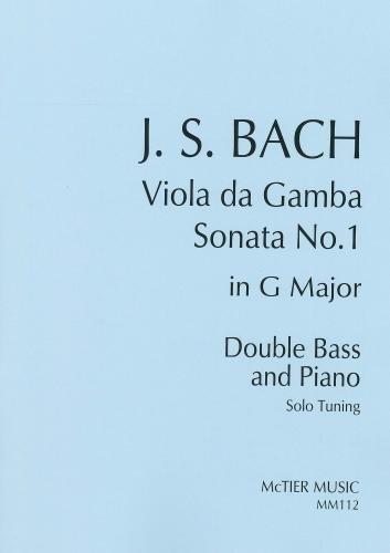 BACH J.S. - SONATA SOL M ORIGINAL DE VIOLA DE GAMBA -CB/P