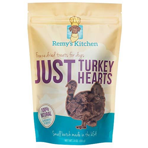 Remy's Kitchen Just Turkey Hearts Freeze Dried Treats