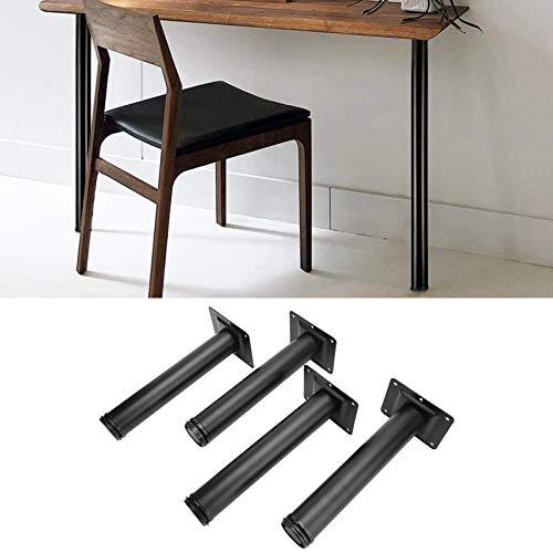 Soporte de Escritorio, Patas de Escritorio Resistentes a la corrosión para escritorios para Soportes de TV para mesas de café(8 Inches, White)