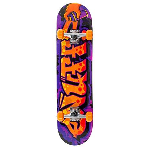 Enuff Mini Graffiti II Orange Skateboard - 7.5 inch