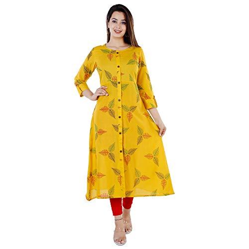 Women's Cotton A-Line Kurta