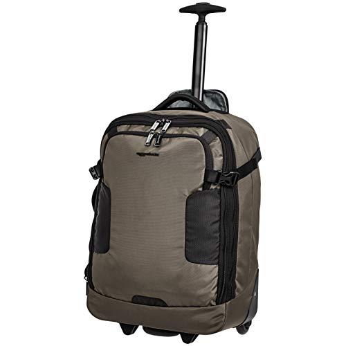 Amazon Basics Mercer Wheeled Duffel, Khaki