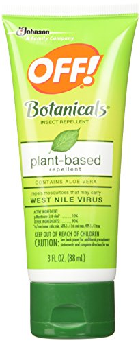 Off! Botanical Lotion, Insect Repelent, 3-Ounces (Pack of 2)