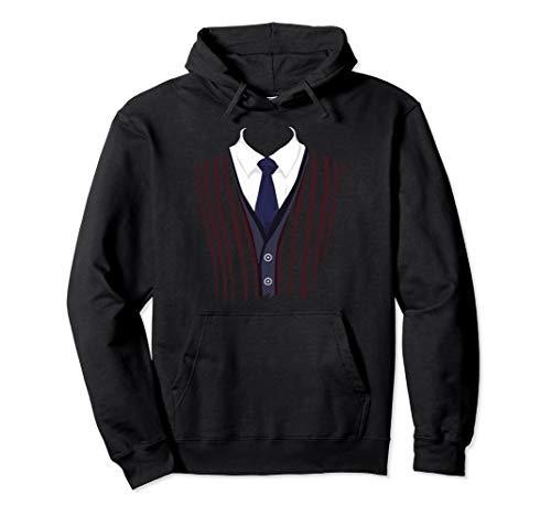 Edle Fun Fake Smoking Anzug T-Shirt Nice Black Tie Tee Pullover Hoodie