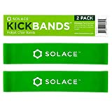 Chair Bands for Kids with Fidgety Feet - Kick Bands Fidget Band - Flexible Seating Alternative - Chair Bands for Classroom Chairs and Desks - Sensory Students ADHD (2-Pack)